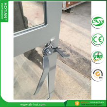 2017 Latest Design Steel Casement Windows Fixed Steel Frame Window With Grid