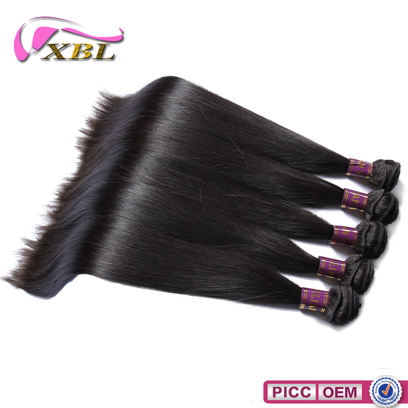 10A top quality Brazilian remy straight hair weft suppliers virgin cuticle hair