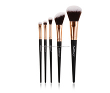 5 Pieces Hight Quality Burlywood Color Professional Makeup Tool Kits Women Soft Cosmetic Makeup Brushes Set pro makeup