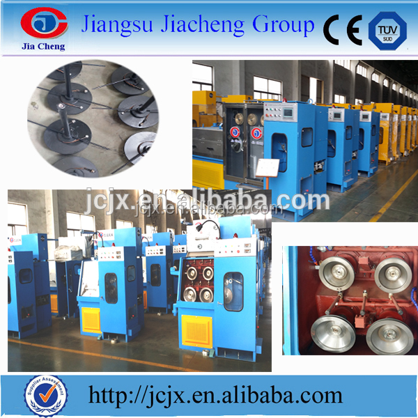 Electric Wire Manufacturing Line/cable Making Machine fine high speed copper wire drawing machine