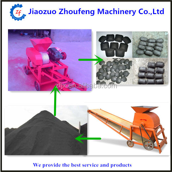 Perfect performance hot selling charcoal powder briquette making machine/coal ball press machine