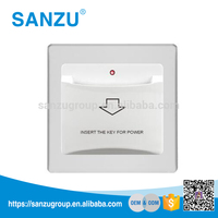 Electrical Energy Saving Key Card Switch for Hotel, Hotel Room Card Wall Switch