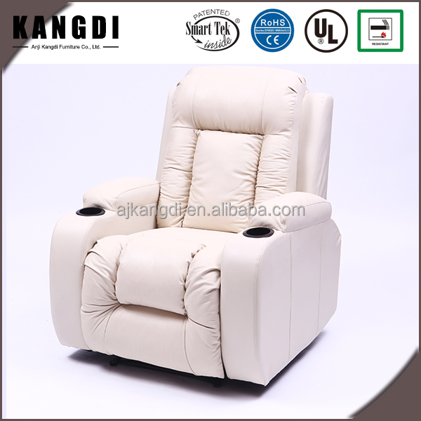 KD-MS7027 Modern style high quality leather electric home cinema sofa