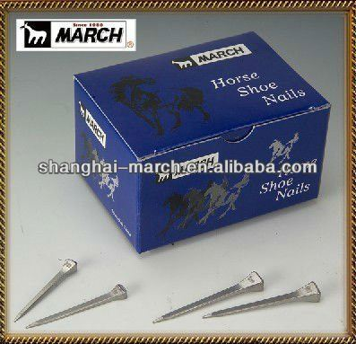 Shanghai March Horseshoe Nail Factory Horseshoes Horse shoe nail Horse And Equestrian Products