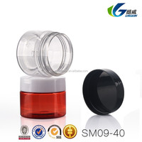 PET Face Mask Cosmetic Container Plastic Cosmetic Jars