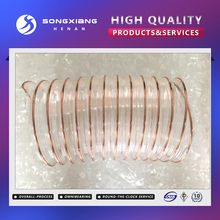 High pressure compressor spring air hose