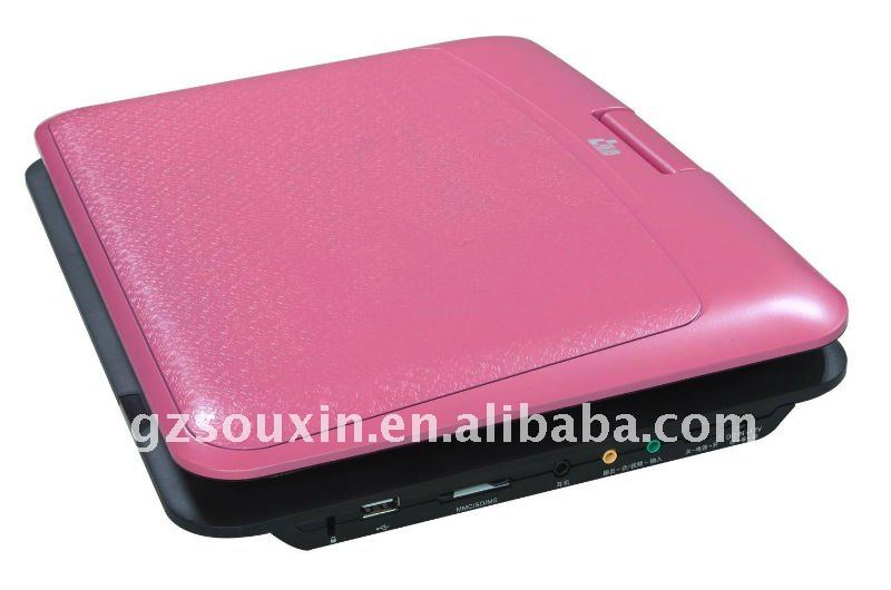 12 inch Portable DVD Player with TV and Games with VJA
