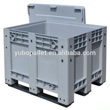 Cheap vented plastic fruit container bulk bin 1200x1000 boxes for industry storage