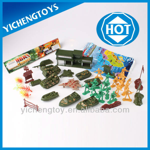 plastic toy military tank