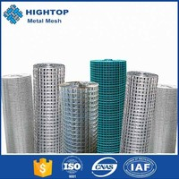 2016 best selling stock cheap small gauge square hole hot dipped galvanized wire mesh panel