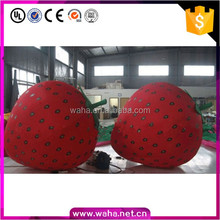 Custom Make Customized Inflatable Strawberry Fruit Replicas Models