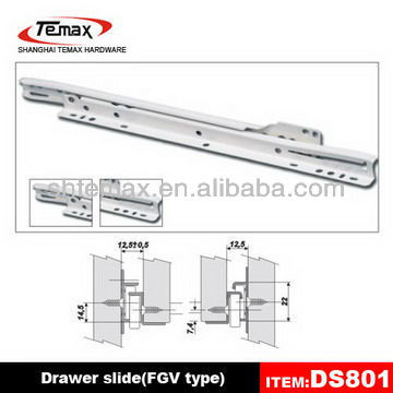 DS801 Roller Drawer Slide
