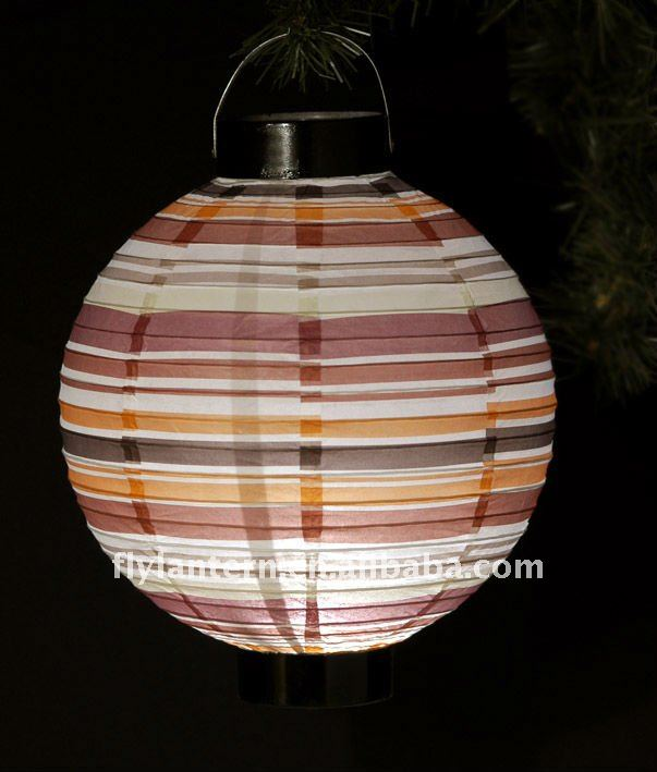 Full pattern paper battery lucky lantern