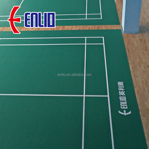 Enlio sport floor / BWF badminton court floor / Badminton Floor Mat