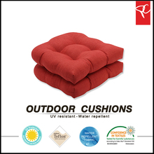 custom digital printing outdoor seat cushion for outdoor