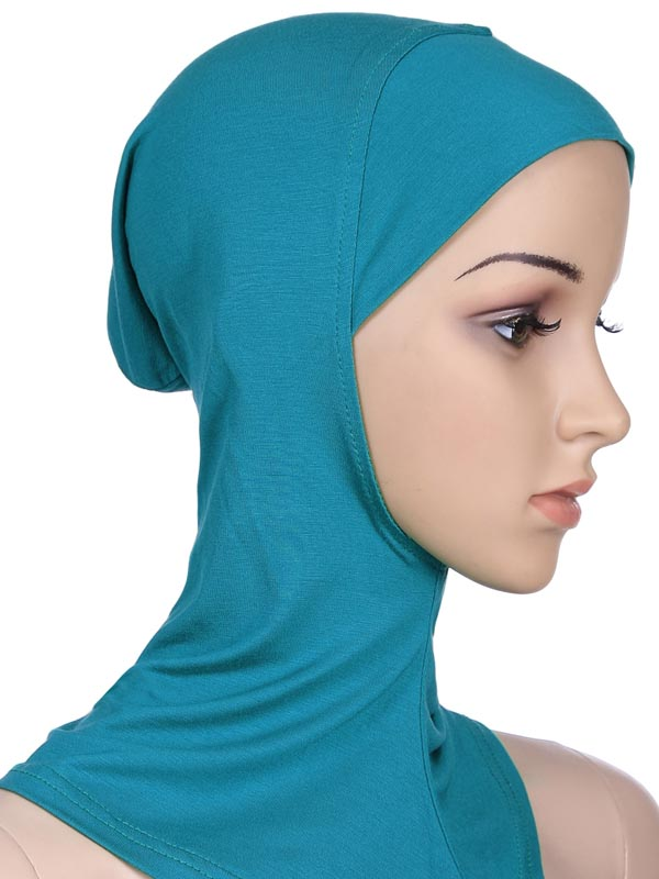 Modal under scarf hat cap muslim neck cover headwear 20 optional color soft and comfortable modal women hijab