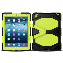New Arrive 2016 Silicone Sprout Channel Cubby Tablet Case For iPad Pro 9.7