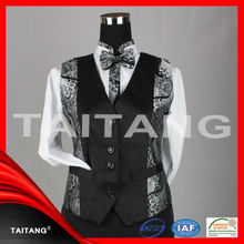Chinese latest personalized hight quality hot sale hotel restaurant waiter uniform