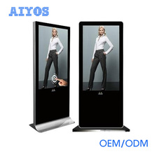 43 inch network digital signage media player / floor standing advertising player kiosk