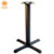 Good price modern table leg cast iron modern bar table leg for single leg dining table