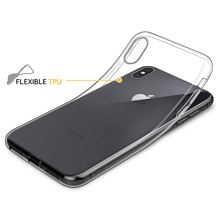 Cell Phone <strong>accessories</strong> Ultra Thin for iPhone XR Case Slim Clear Protective Silicone Cover for iPhone 6S case