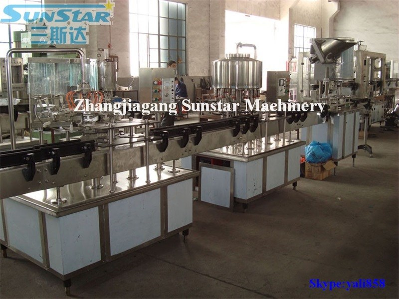 Hot sale 2000-4000bph small business bottled pure water process machinery