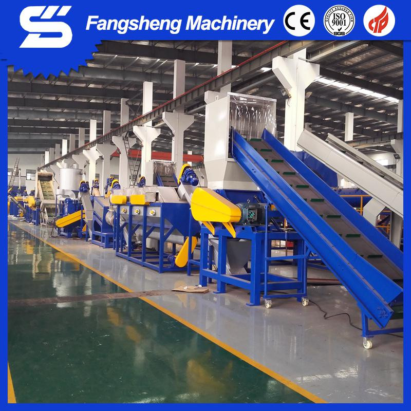 High-speed friction cleaning plastic film recycling machine/plastic washing machine line