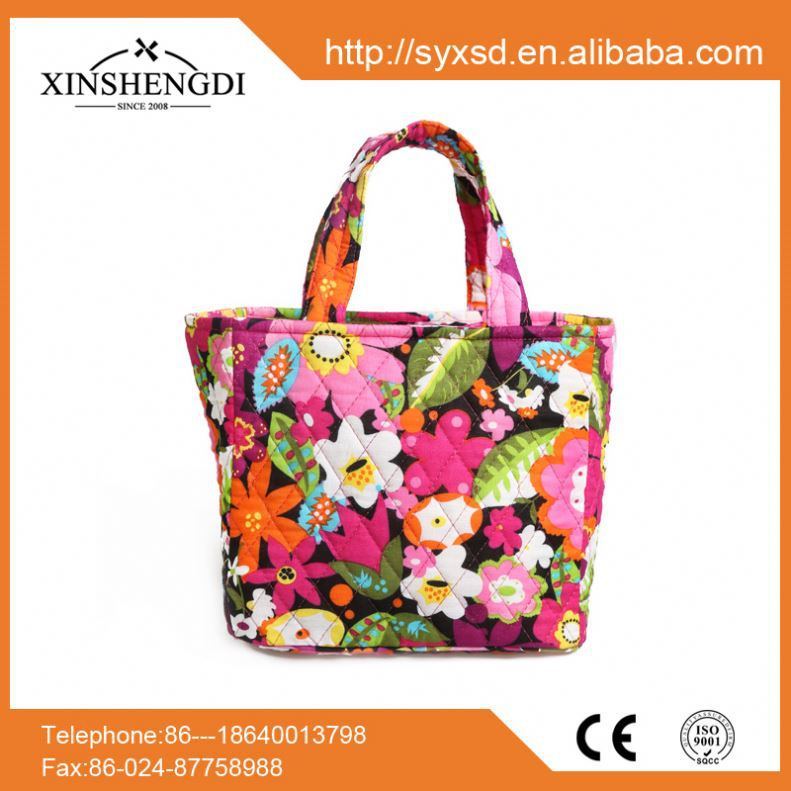Good quality cotton floral quilted casual beach charles and keith handbags