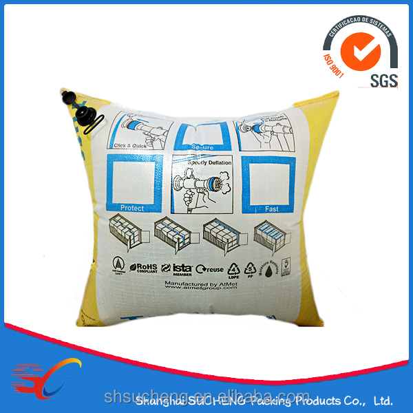 China Packaging PP Woven Dunnage Air Bag for sale