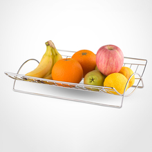 Kitchen Stainless Steel Wire Arched <strong>Fruit</strong> Basket