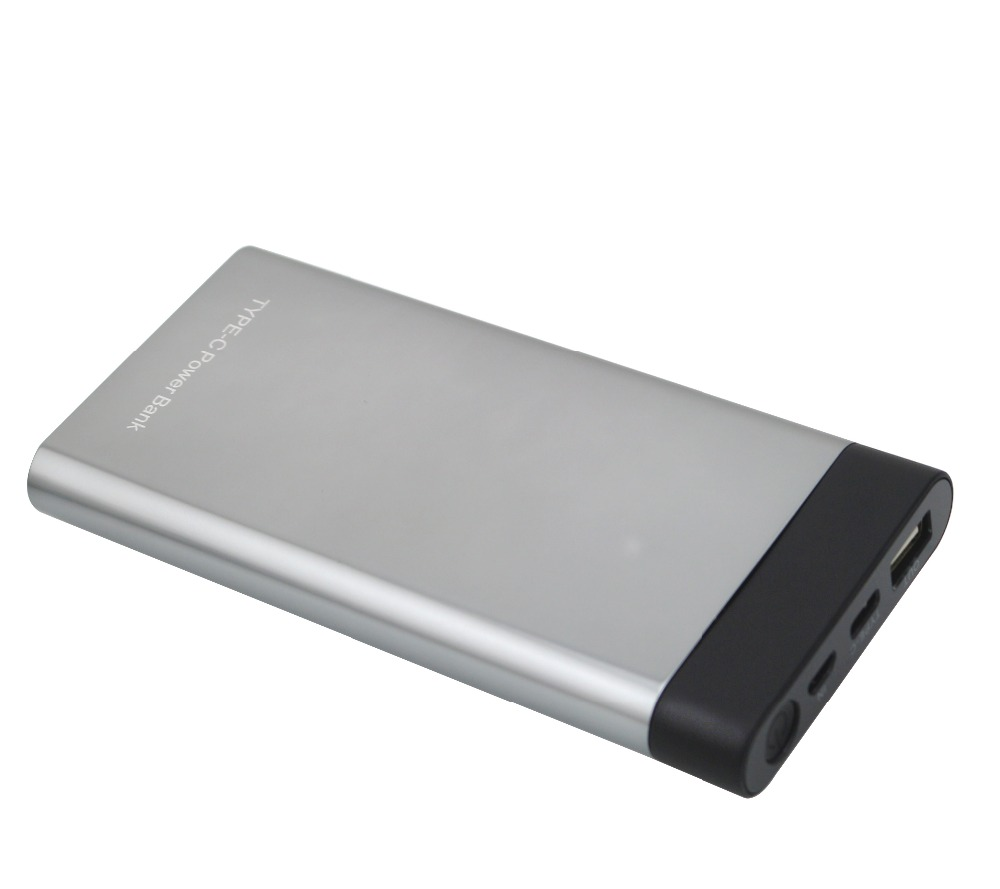 10000mah USB Type-c Power Bank With LED Digital display