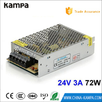 DC24V 3A 72W Switching Power Supply