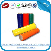 5 Layers Machine LLDPE Color Hand Stretch Film Plastic Wrap