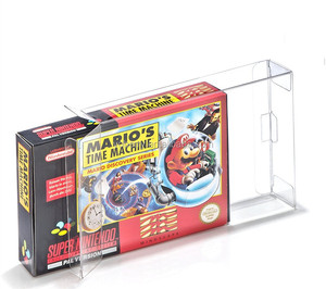 Top selling best quality acid free PET SNES / N64 Game box protectors