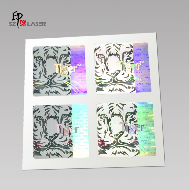 Color Change Custom 3d Holographic Stickers with own logo printed