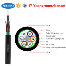 144 core single mode armoured optical fiber and cable from Necero factory
