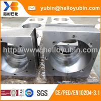 High Quality Carbon Steel Conveyor Roller Bearing Housing, Custom Forging Axle Housing With ISO9001