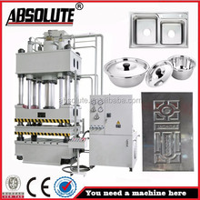 ABSOLUTE brand 50 tons deep drawing hydraulic press double column punching machine