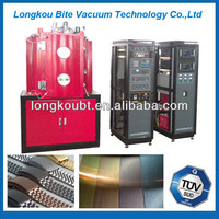 color coating for steel pipe/titanium coating machine for steel pipe