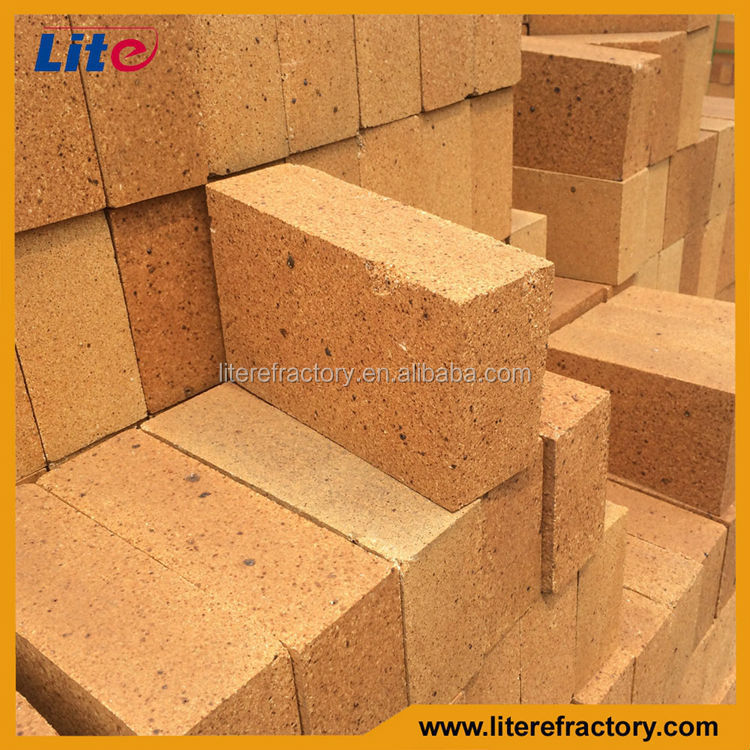 brick shape refractory fireclay brick for clay brick kiln/building material 2015