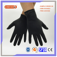 SHINEHOO Price Of Black Disposalbe Rectal Medical Gloves