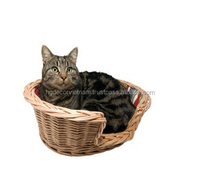 Wicker cat bed /rattan cat bed/wicker bed pets