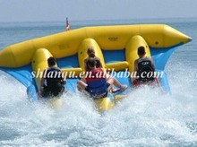 Inflatable Flying Fish Tube Towable Inflatable Water Games Flyfish Banana Boat For Sea