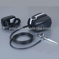Portable Airbrush Compressor kit for tattoo, cake,nail