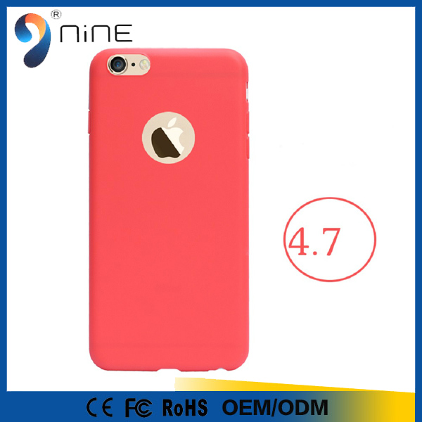 custom logo soft cover tpu pure color ultra thin silicone phone case for 4.7 inch phone 5 5.5 inch