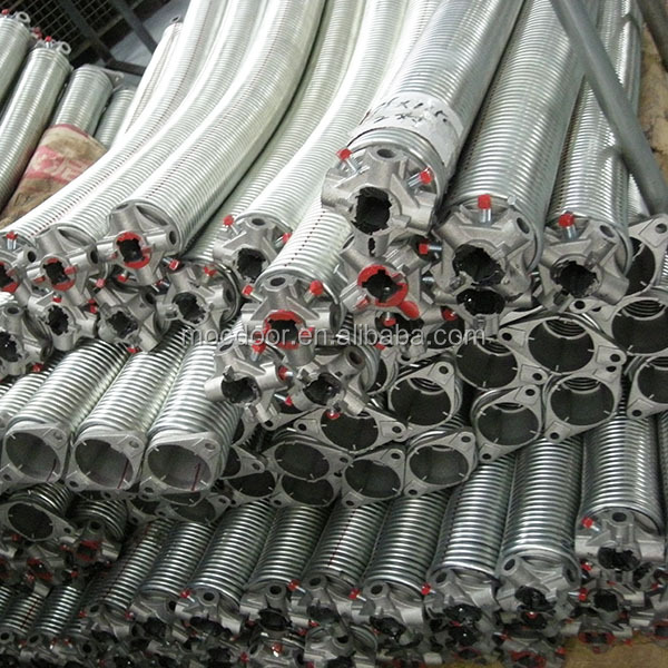 Brightly galvanized torsion springs for garage doors/durable torsion springs