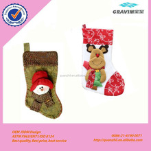 plush christmas socks toy