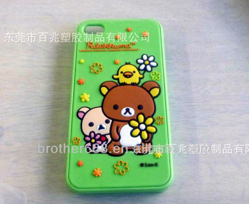 2012 trendy funny mobile phone case and silicone mobile phone case and cartoon mobile phone cover