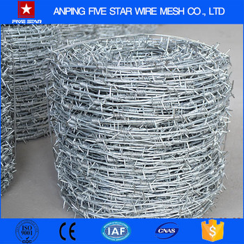 High Quality Galvanized Concertina Barbed Wire 10m length