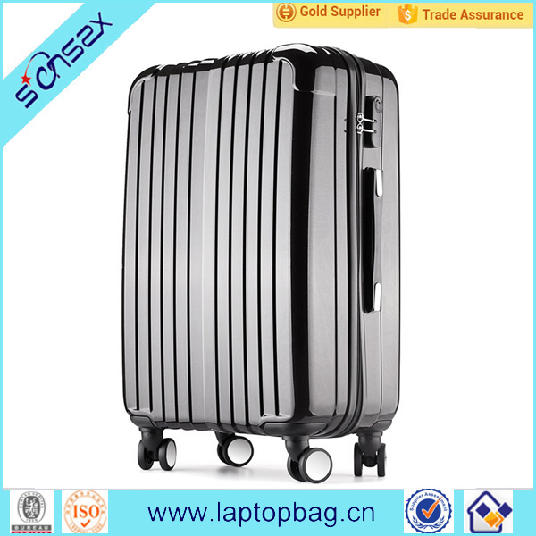 wholesale fashion luggage trolley travel bag high quality ladies laptop trolley bag